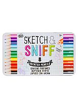 NPW Sketch And Sniff Scented Pencils
