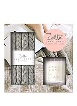 Zoella Lazy Days Fragranced Candle & Socks