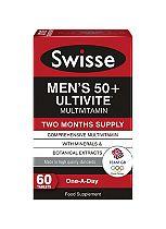 Swisse Men's Ultivite 50+ - 60 tablets