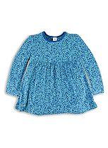 Mini Club Girls Long Sleeve Bird Tunic Turquoise