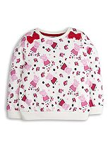 Mini Club Girls Long Sleeve Sweat Peppa Pig