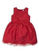 Mini Club Girls Party Dress Red