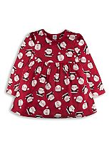 Mini Club Girls Long Sleeve Santa Tunic