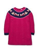Mini Club Girls Knitted Dress Pink
