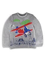 Mini Club Boys Long Sleeve Aeroplane Top