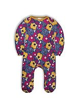 Mini Club Baby Girls All in One Floral Purple