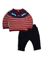 Mini Club Baby Boys 2 Piece Jumper Set Cars