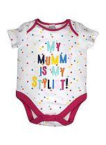 Mini Club Baby Girls Bodysuit Dot