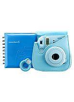 Instax Mini 8 Accessory Kit Blue