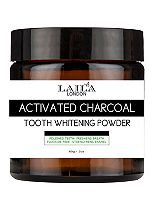 Laila London Activated Charcoal Tooth Whitening Powder