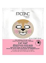 Face Inc by Nails Inc Facial Sheet Mask | CAT NAP revitalising & fatigue fighting