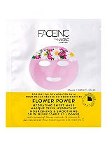 Face Inc by Nails Inc Facial Sheet Mask | FLOWER POWER nourishing & smoothing