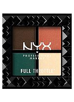 NYX PROFESSIONAL MAKEUP Full Throttle Shadow Palette - Explicit