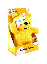 BBC Children in Need Knitted Pudsey 2016