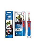 Oral-B Star Wars Kids Electric Toothbrush and Replacement Heads x 4 Bundle