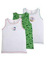 Mini Club Boys George Pig Vests Pack of 3