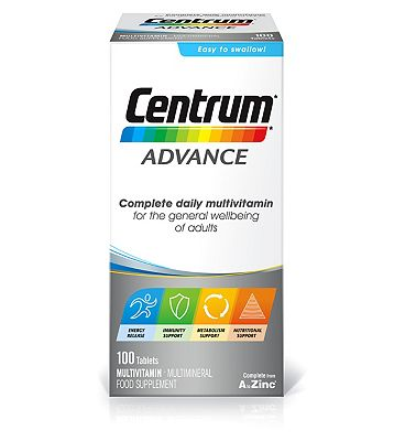 Centrum Advance  - 100 Tablets