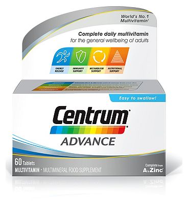 Centrum Advanced  - 60 Tablets
