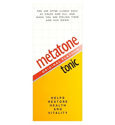 Metatone Original Flavour Tonic - 500ml