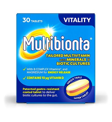 Multibionta Vitality - 30 Tablets