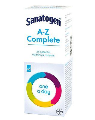 Sanatogen A-Z Complete - 90 Tablets