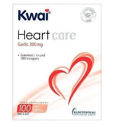 Kwai Heart Care Garlic 300mg 100 Tablets