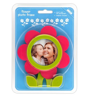 Shot 2 Go Flower Photo Frame- Pink.