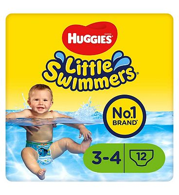 Huggies Little Swimmers Size 34 (7kg15kg)  12 Pants