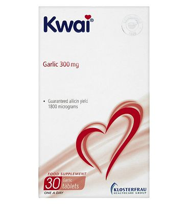 Kwai Heart Care Garlic 300mg 30 One a Day Tablets