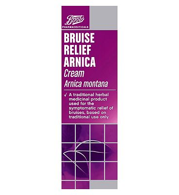Boots Bruise Relief Arnica Cream 30g