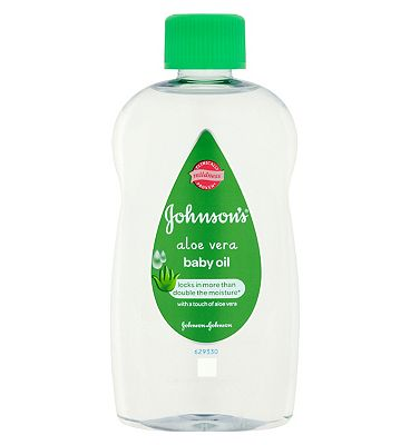 Johnsons Baby Oil With Aloe Vera  300ml