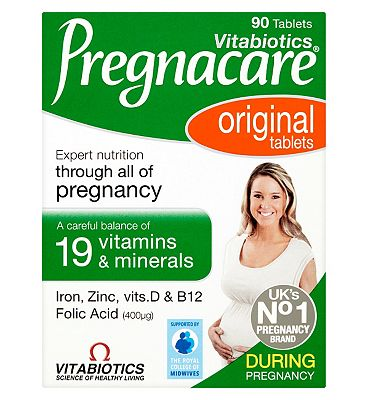 Vitabiotics Pregnacare Original Tablets - 90 Tablets
