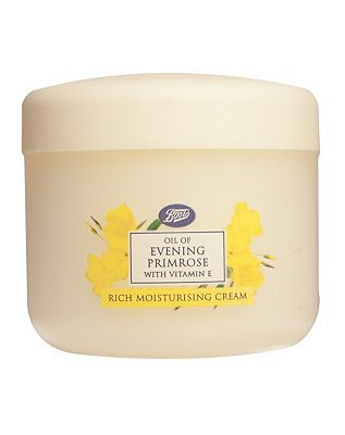 Boots Oil Of Evening Primrose With Vitamin E Rich Moisturising Cream 100ml