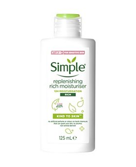 Simple Kind To Skin Replenishing Rich Moisturiser  125ml