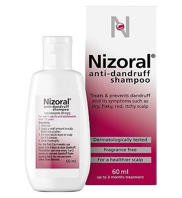 Nizoral Anti-dandruff Shampoo - 60ml.