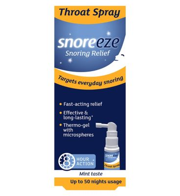 Snoreze Snoring Relief Throat Spray