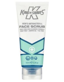 King Of Shaves Antibacterial Face Scrub