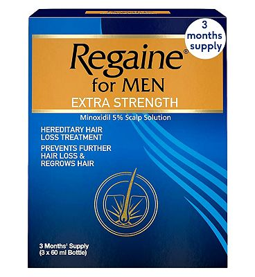 Regaine For Men Extra Strength - 3 Months Supply.