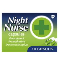 Night Nurse Capsules 10 Pack