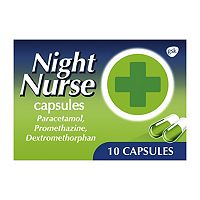 Night Nurse Capsules 10s | Aids Restful Sleep - Boots