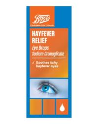 Boots Hayfever Relief Allergy Eye Drops 10ml