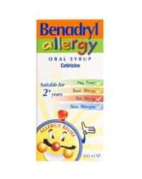 Benadryl Allergy Oral Solution 100ml