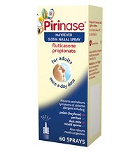 Pirinase hayfever 0.05% nasal spray