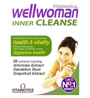 Wellwoman Inner Cleanse - 30 Tablets