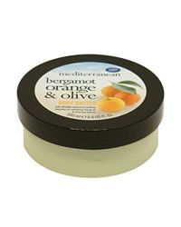 Mediterranean Bergamot Orange & Olive Body Butter 200ml :  olive lotion skin care bergamot