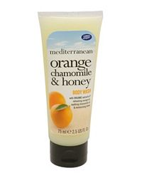 Mediterranean Mini Orange Chamomile & Honey Body Wash :  shower gel body wash target orange