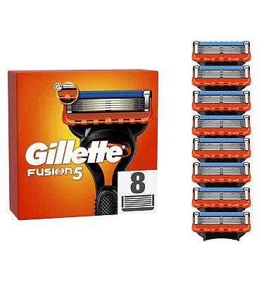 Gillette Fusion Razor Blades 8 Pack