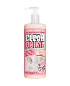 Soap & Glory Clean On Me™ Creamy Clarifying Shower Gel 500ml