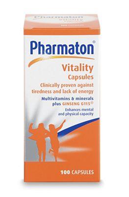 Pharmaton Vitality Capsules 100