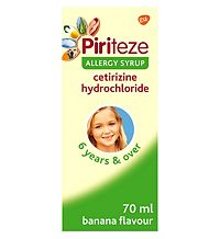 Piriteze Allergy Syrup 70ml